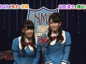 【NMB48】横山田!(なな×ゆいはん)漫才に 挑戦!? - FC2動画